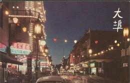 CHINATOWN AT NIGHT IN SAN FRANCISCO, PC, Uncirculated - China