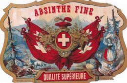 ABSINTHE FINE SUISSE / NISSOU / PARIS - Etiquettes