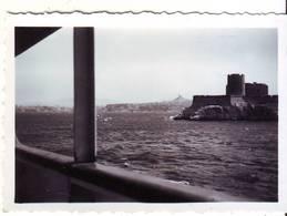 PHOTO -  MARSEILLE Vue Prise D Un Bateau - Ft 9 X 6,5 Cm - Lieux