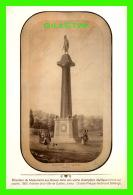 QUÉBEC - ÉLÉVATION DU MONUMENT AUX BRAVES EN 1860 - ARCHIVES  DE LA VILLE DE QUÉBEC - C. P. FERDINAND BAILLAIRGÉ - - Québec - La Cité