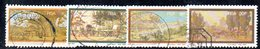 T1997 - SUD AFRICA SOUTH 1976, Yvert N. 401/404 Usato - Sud Africa (1961-...)