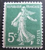 R1692/90 - 1907 - TYPE SEMEUSE - N°137d (IIA) NEUF** - 1906-38 Sower - Cameo