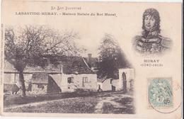 CPA - LABASTIDE MURAT - Maison Natale Du Roi Murat - France