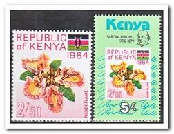 Kenia 1964+1979, Postfris MNH, Flowers - Kenia (1963-...)