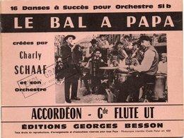 Livres, BD, Revues > Français > Non Classés Musique Cusset Editions Besson Le Bal A Papa 16 Morceaux - Unclassified