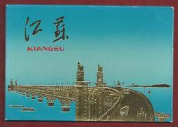 CN.- China. KIANGSU. 10 Kaarten Met Omslag. 10 Cards With Envelope. - China