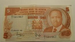 1981 - Kenya - 5 SHILLING - 1st January 1981 - 501967 - Kenya