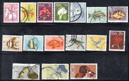 R970 - SUD AFRICA SOUTH 1974, Ordinaria Yvert N. 359/374 Usato - Sud Africa (1961-...)