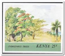 Kenia 1986, Postfris MNH, Trees - Kenia (1963-...)