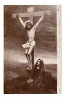 """ART . TABLEAU . J. HERNANDEZ-GIRO . """" LE CHRIST ET LA VIERGE """" SALON DE PARIS 1912 - Réf. N°18996 - - Pittura & Quadri"""