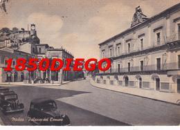 MODICA - PALAZZO DEL COMUNE F/GRANDE VIAGGIATA 1953? ANIMATA - Modica