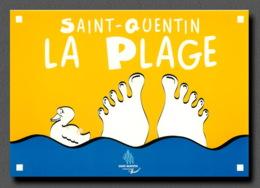 SAINT QUENTIN   La Plage  (scan Recto-verso) FRCR91062 - Saint Quentin