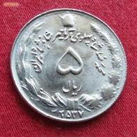 Iran 5 Rials 1978 MS 2537 KM# 1176  Irão Persia Persien - Iran