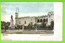 MEXICO / PALACIO DE HERNAN CORTEZ CUERNAVACA / Tarjeta Virgen - México