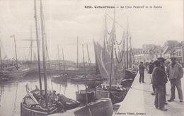CPA - 29 - CONCARNEAU - Le Quai Peneroff Et Le Bassin - 6258 - Concarneau