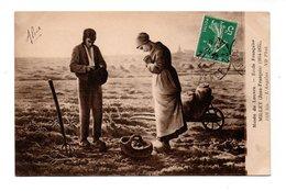 """ART . TABLEAU . Jean-François MILLET . """" L'ANGÉLUS """" . MUSÉE DU LOUVRE PARIS - Réf. N°18999 - - Pittura & Quadri"""
