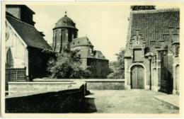 BELGIO  ANVERS  MECHELEN/MALINES  Vue Sur L'Eglise N. D. D'Hanawyck  Carte Chocolat Martougin - Mechelen