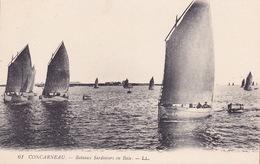 CPA - 29 - CONCARNEAU - Bateaux Sardiniers En Baie - 61 - Concarneau