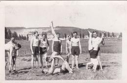 Alte Ansichtskarte Aus Batow ( Batowo ) Deutsche Soldaten Beim Sport In Ohnwitz (Ohnevice) - Macédoine
