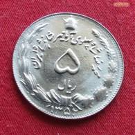 Iran 5 Rials 1973 SH 1352 KM# 1176  Irão Persia Persien - Iran