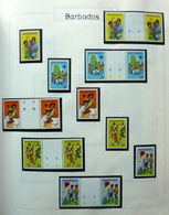 Beautiful Collection World,Disney,Thematics,Motiv In Importa Binder MNH/Postfris/Neuf Sans Charniere...TOP QUALITY!! - Verzamelingen (in Albums)