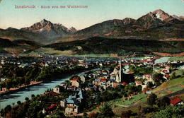INNSBRUCK - Blick Von Der Weiherburg - Innsbruck