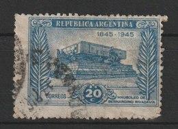 MiNr. 523 Argentinien /  1945, 1. Sept. 100. Todestag Von Bernardino Rivadavia. Odr.; Gez. 13:13. - Argentinien