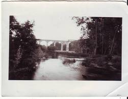 PHOTO - Pont De SAINT BENOIT Près De POITIERS (86) - Ft 12 X 9 Cm - Places