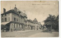 Troyes Boulevard Carnot  Edit Marquis  Café Restaurant Garage Nolot - Troyes