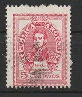 MiNr. 524 Argentinien /  1945/1948. Freimarke: General San Martín. I = Bdr., II = Odr.; Gez. 13. - Argentinien