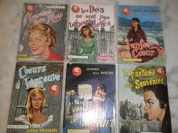 """Lot De 6 Livres Romans Collection """"Rêves D'Amour"""" Années 1956 Et 1957 - Lots De Plusieurs Livres"""