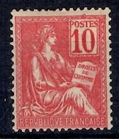 France Mouchon YT N° 116 Neuf ** MNH. Gomme D'origine. TB. A Saisir! - 1900-02 Mouchon