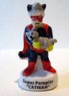 """Fève Brillante -  Pompiers Super Héros - """"Catman"""" - Characters"""