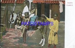 101849 CUBA COSTUMES NATIVE CHILDREN POSTAL POSTCARD - Postcards