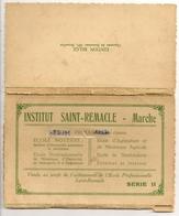 Institut Saint-Remacle - MARCHE. Lot De 10 Cartes. Vendu Au Profit De L'achèvement De L'Ecole. Série 2 - Postcards