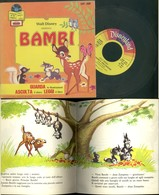 DISCO VINILE DISNEYLAND 1968 -WALT DISNEY PRESENTA BAMBI +LIBRO ILLUSTRATO - Bambini