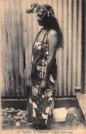 CPA - Tahiti - La Tahitienne - A Typical Tahiti Maiden - Tahiti