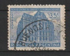 MiNr. 468 Argentinien / 1942, 5. Okt. Freimarke: Postgebäude; Inschrift: CORREOS Y TELEGRAFOS. Odr.; Wz. 11; Gez. 13:13. - Argentinien