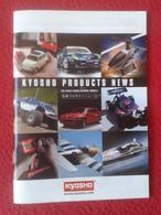 CATÁLOGO EN INGLÉS Y JAPONÉS ? KYOSHO PRODUCTS NEWS JAPAN RADIO CONTROL MODELS CATALOGUE 2006 KATALOG 56 PÁGINAS CARS... - Advertising