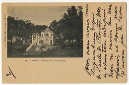 Hanoi 35 Pagode Bouddha Precurseur Edit Schneider Chateau La Guerche Aubois Sauvard Cachet Dong Hoi  1902 - Viêt-Nam