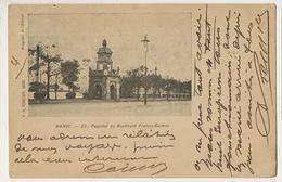 Hanoi 25 Bd Francis Garnier Precurseur Edit Schneider Chateau La Guerche Aubois Sauvard Cachet Dong Hoi  1902 - Viêt-Nam