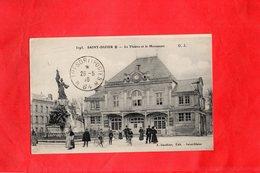 E2010 - SAINT DIZIER - D52 - Le Théâtre Et Le Monument - Monuments