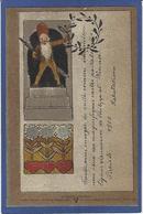 CPA Art Nouveau Vienne Wien Philipp Et Kramer Exposition Paris 1900 Non Circulé Voir Scans, Précurseur RARE - Altre Illustrazioni