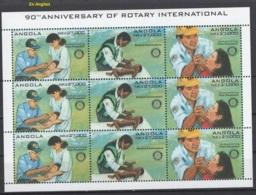 Angola. Y&T 2005: 959/61 (x3) Texte Anglais. **, MNH, Neuf(s). Cote 2014: 15 € (1£ = 1€) - Angola