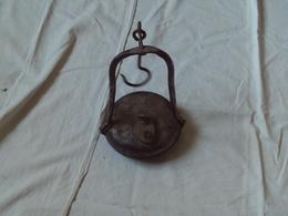 VERITABLE ANCIENNE LAMPE A HUILE DE MINEUR RAVE N° 419 De 1900. NUMERO PRESENT SUR LA LAMPE ET LE BOUCHON. - Lamps