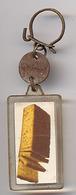 """{09888} Porte-clef """" Pain D'épices Unimel """"   """" En Baisse """" - Key-rings"""