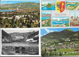 10937 - Lot De 200 CPA/CPSM De La SUISSE - Cartoline
