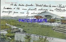 101858 PARAGUAY VILLA RICA STATION TRAIN ESTACION DE TREN POSTAL POSTCARD - Paraguay