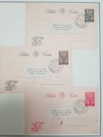 O) 1950 ANGOLA, JEWISH SYMBOL - MENORAH - HOLY YEAR. LETTER TICKET, XF TO PORTUGAL - Angola