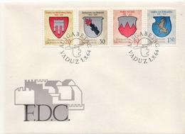 Liechtenstein Set On FDC - Covers